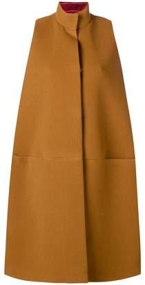 Gianluca Capannolo oversized sleeveless coat