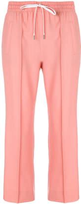 Miu Miu drawstring trousers