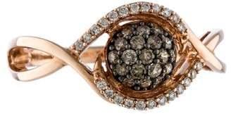 Le Vian 14K Diamond Swirl Ring $795 thestylecure.com