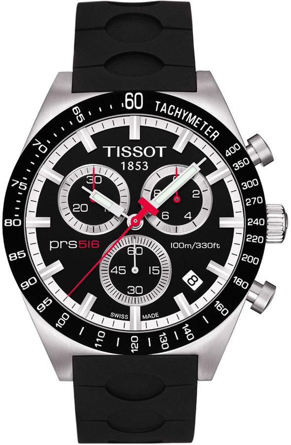 Tissot Men's PRS 516 Automatic Chronograph Sport Watch