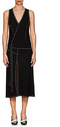 Derek Lam Women's Crepe Tank Dress - Black