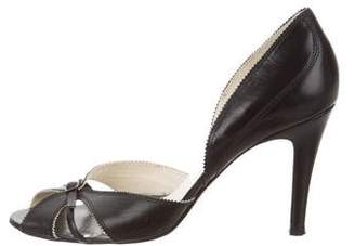 Pedro Garcia Leather d'Orsay Pumps