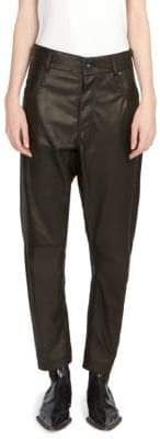 Haider Ackermann Leather Jean Trousers