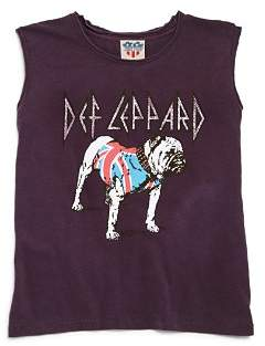 Junk Food Clothing Girls' Def Leppard Tee - Big Kid