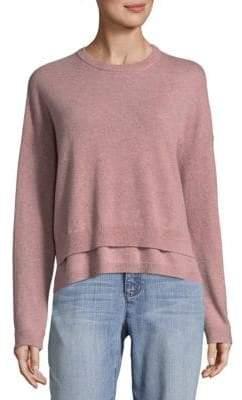 Inhabit Double Crew Cashmere Sweater