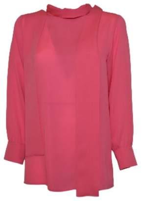 Gucci Scarf Neck Shirt