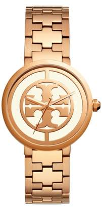 Tory Burch Reva Logo Dial Bracelet Watch, 36mm