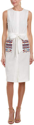 Tahari by Arthur S. Levine Tahari Asl Shirtdress