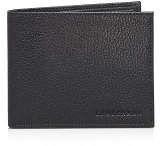 Longchamp Le Foulonné Bifold Wallet with Coin Pouch