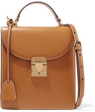 Mark Cross Uptown Leather Shoulder Bag - Tan