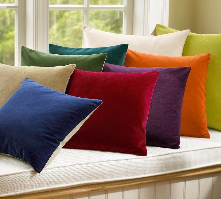 Velvet Linen Pillow Covers