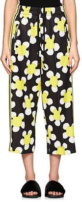 Marc Jacobs Women's Daisy-Print Jersey Crop Track Pants