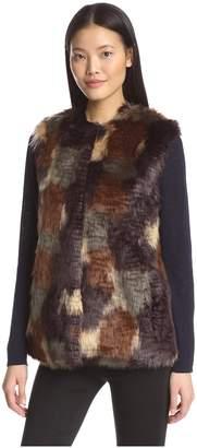 Bernardo Women's Faux Fur Vest