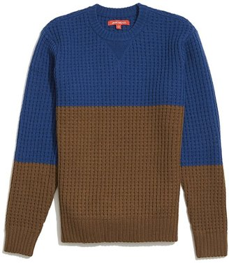 JackThreads Waffle Sweater $54 thestylecure.com