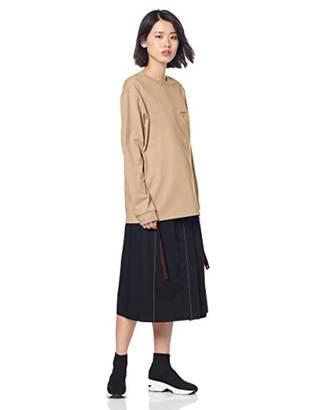 Snidel (スナイデル) - [スナイデル] Tシャツ ロンTシャツ レディース SWCT191111 BEG 日本 F (FREE サイズ)