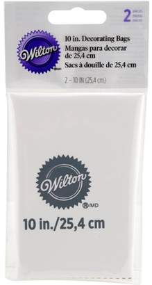 Wilton 10-Inch Re-usable Icing Decorating Bag, Professional Piping Bag, 2-Count