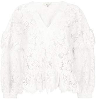 Ganni Jerome lace blouse