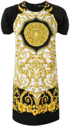 Versace Baroque-print dress