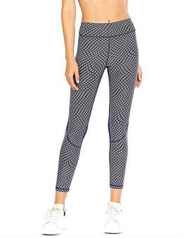 The Upside Geo Wave Compression Midi Pant