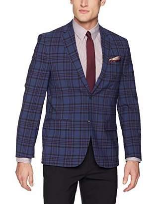 Ben Sherman Men's /Red Plaid Sport Coat