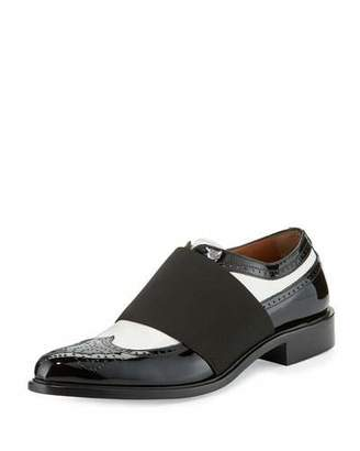 Givenchy Show Richelieu Icon Oxford, Black/White $1,025 thestylecure.com