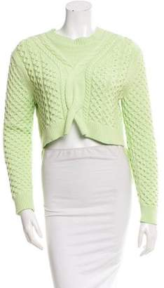 Thakoon Cable Knit High-Low Sweater