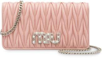 Miu Miu Matelassé leather mini-bag