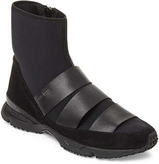 Damir Doma Flash Neoprene High-Top Sneakers