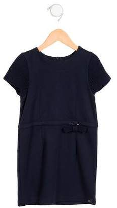 Lili Gaufrette Girls' Short Sleeve Dress