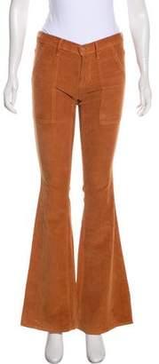 Mother Corduroy Low-Rise Pants