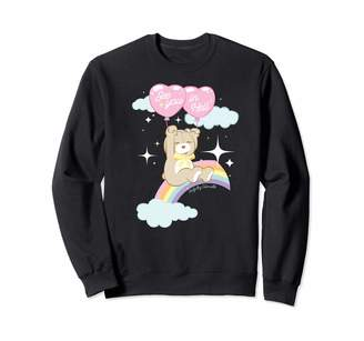 Awfully Adorable See You in Hell Funny Teen Cute Teddy Bear Rainbow Top Sweatshirt