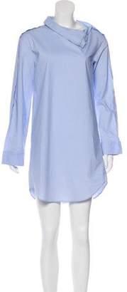MM6 MAISON MARGIELA Long Sleeve Mini Dress