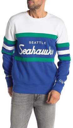 Mitchell & Ness Seattle Seahawks Head Coach Crew Neck Sweater