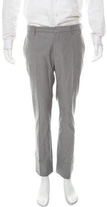 Christian Dior Flat Front Woven Pants