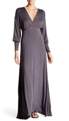24\u002F7 Comfort V-Neck Maxi Dress (Plus Size Available)