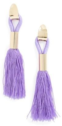 Women's Topshop Tassel Statement Earrings $28 thestylecure.com