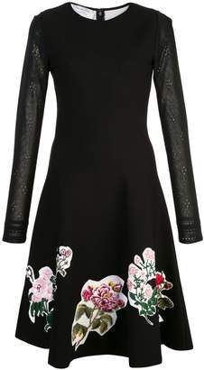 Oscar de la Renta long sleeve dress