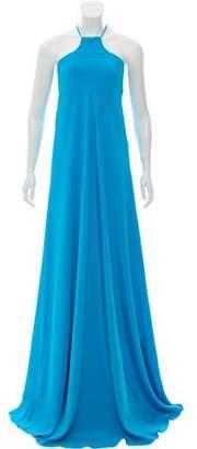 Kaufman Franco KAUFMANFRANCO Silk Evening Dress w/ Tags