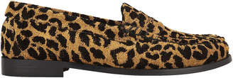 Re/Done X Weejuns Whitney Leopard Loafers