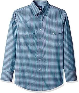 Wrangler Men's Wrinkle Resist Two Pocket Shirt