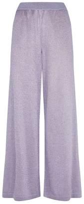 Missoni Lurex Wide-Leg Trousers