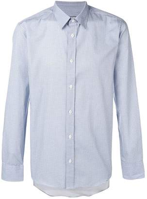 Paul & Joe mini check print shirt