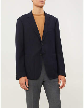 Gieves & Hawkes Regular-fit single-breasted wool jacket
