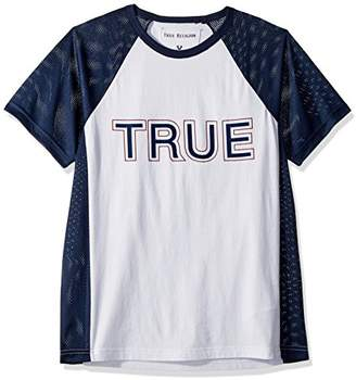True Religion Men's Contrast Raglan Shirt