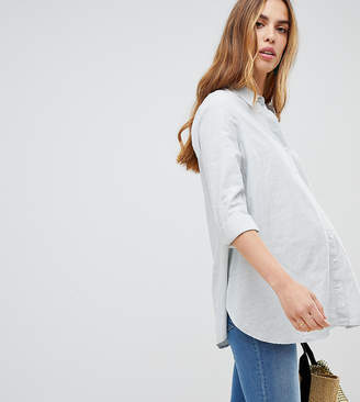 New Look Maternity Stripe Shirt