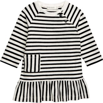 miles baby Reversed French Terry Dress