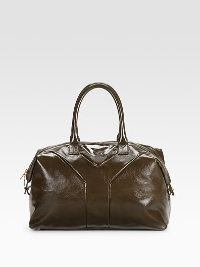 Yves Saint Laurent Easy Medium Patent Tote