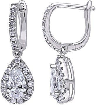 Diamond Select Cuts 14K 1.40 Ct. Tw. Diamond Drop Earrings