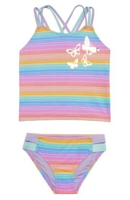 Hula Star Rainbow Two-Piece Swimsuit
