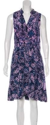 Rebecca Taylor Printed Knee-Length Dress